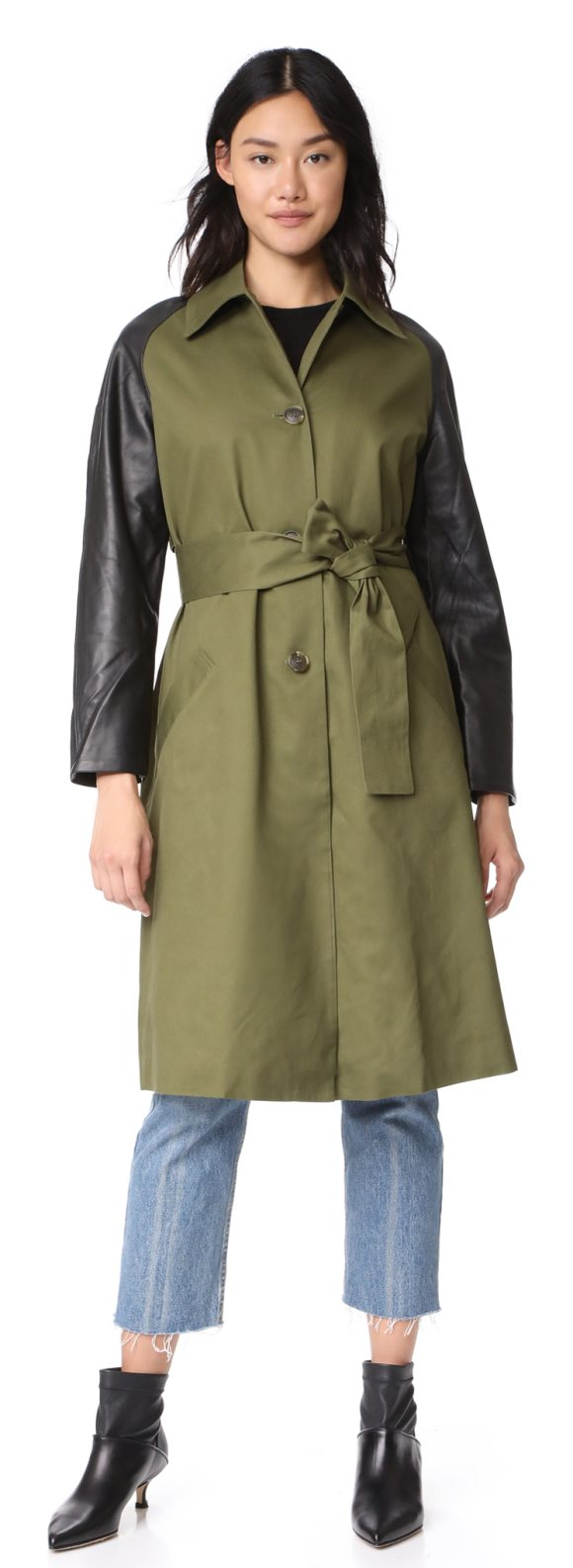 VEDA army trench coat - Exclusive to Shopbop. A military-inspired VEDA coat...