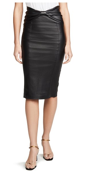 Veronica Beard carlyn skirt in black