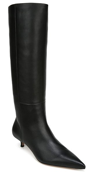 Veronica Beard freda pointed toe boot in black