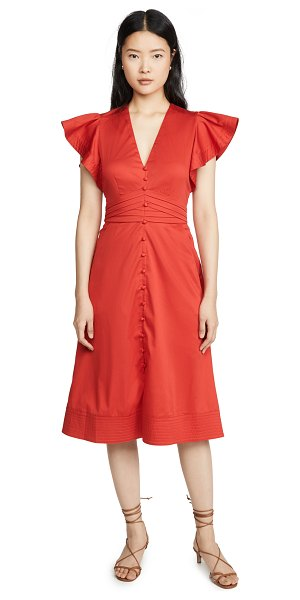 Veronica Beard sada dress in red
