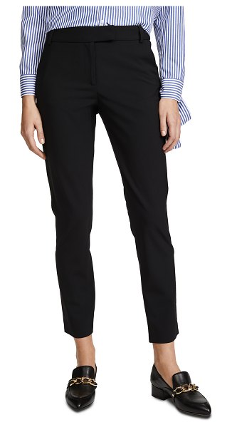 Veronica Beard slim cigarette pants in black
