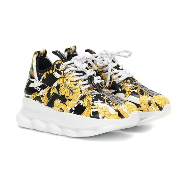 VERSACE chain reaction 2 sneakers in multicoloured