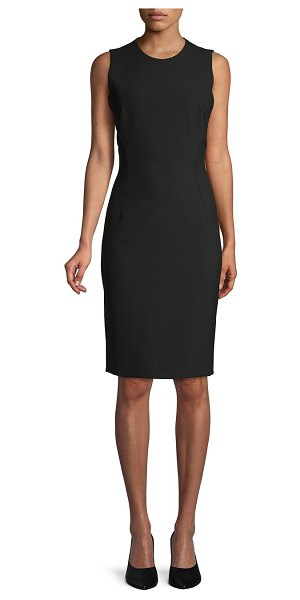 Versace Collection Sleeveless Sheath Dress in black