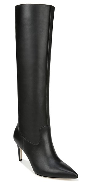 Via Spiga garance knee high boot in black leather