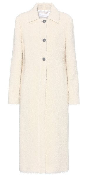 Victoria Beckham wool-blend coat in white