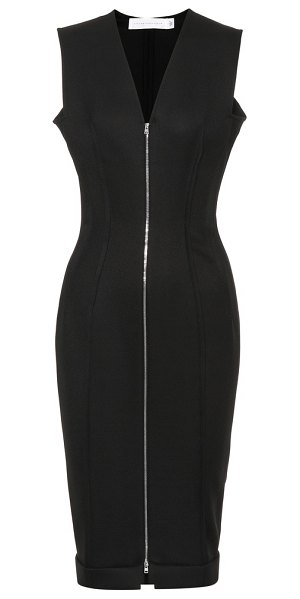 Victoria Beckham wool-blend sheath dress in black