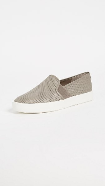 Vince blair slip on sneakers in woodsmoke