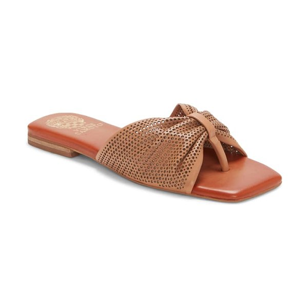 Vince Camuto amahlee sandal in himalayan tan