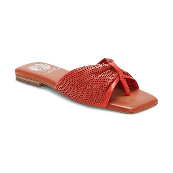 Vince Camuto amahlee sandal in oxy fire