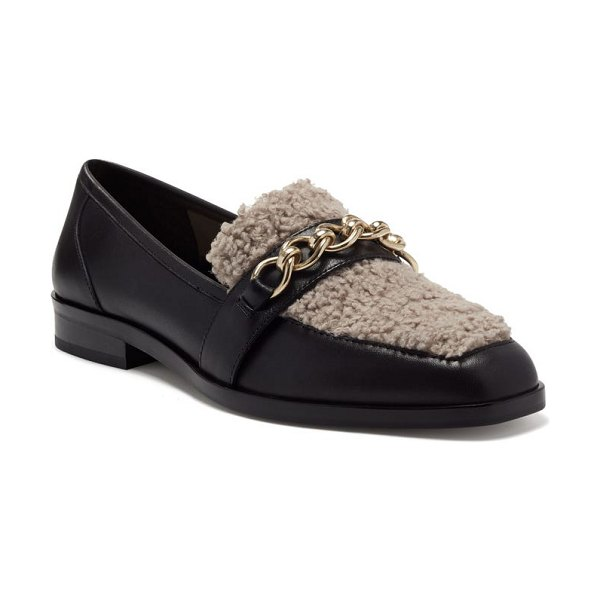 Vince Camuto breenan faux fur loafer in oxford