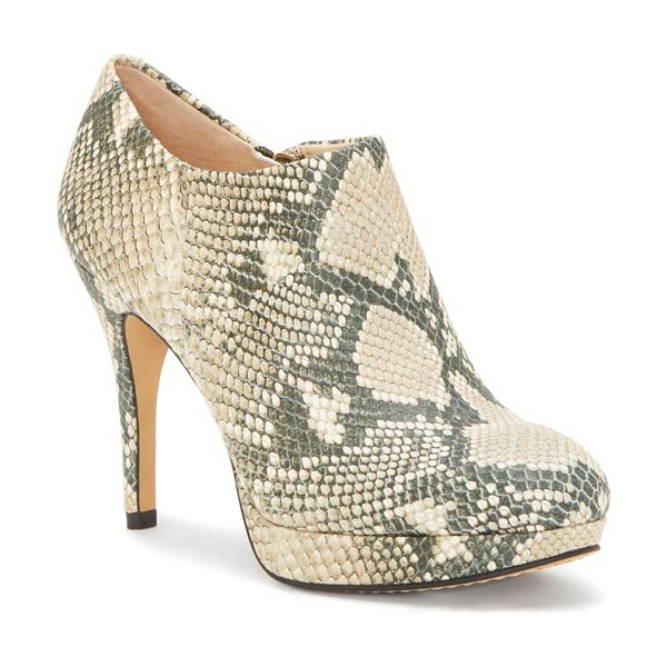 Vince Camuto 'elvin' bootie in natural leather