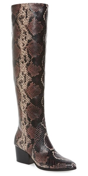 Vince Camuto nestel knee high boot in mauve multi