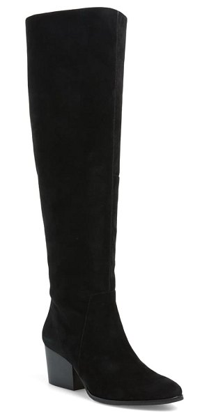 Vince Camuto nestel knee high boot in black suede