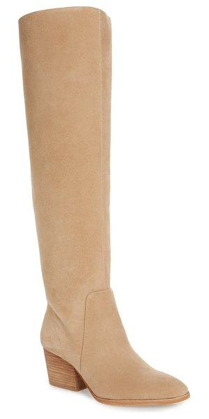 Vince Camuto nestel knee high boot in tortilla suede