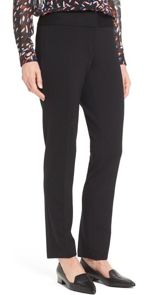 Vince Camuto ponte ankle pants in black