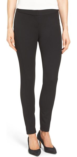 Vince Camuto stretch twill skinny pants in rich black