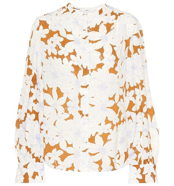Vince floral blouse in multicoloured