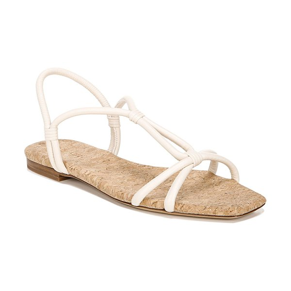 Vince Hazen Napa Slingback Sandals in white