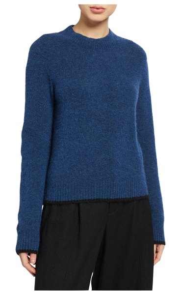 Vince Pullover Contrast Tip Sweater in multi