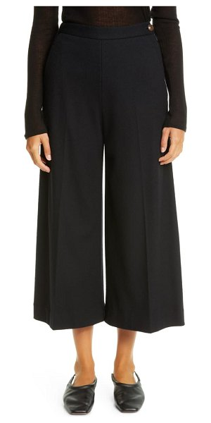 Vince wool blend culottes in black