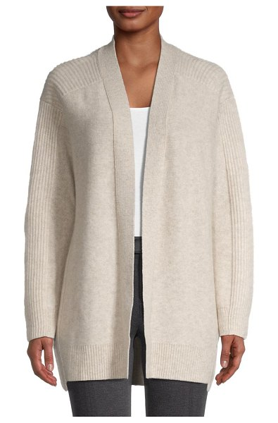 Vince Wool & Cashmere Cardigan in dove oatmeal