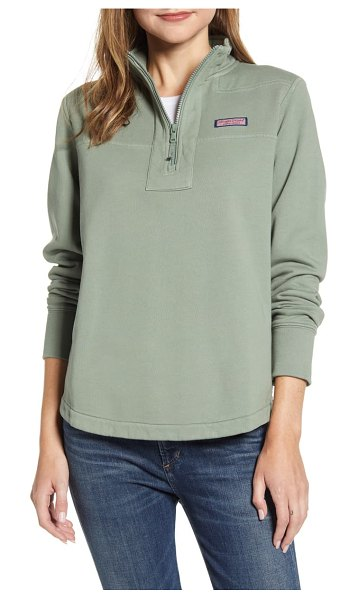 Vineyard Vines relaxed shep shirt pullover in sage olive