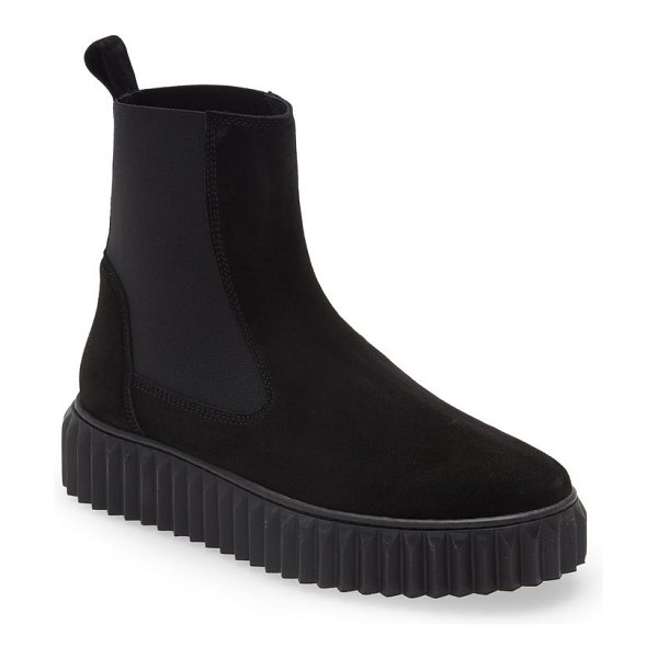 Voile Blanche beth chelsea boot in black