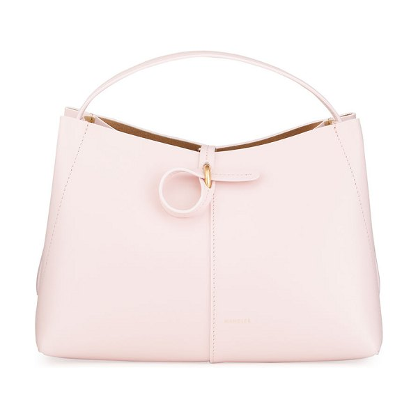 WANDLER Ava Mini Leather Tote Bag in pink