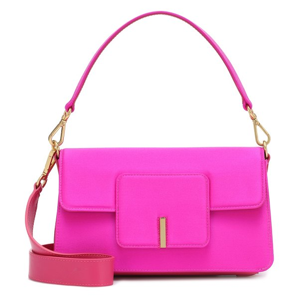 WANDLER exclusive to mytheresa – georgia satin shoulder bag in pink
