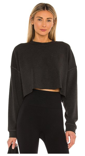 WeWoreWhat cropped sweatshirt in black