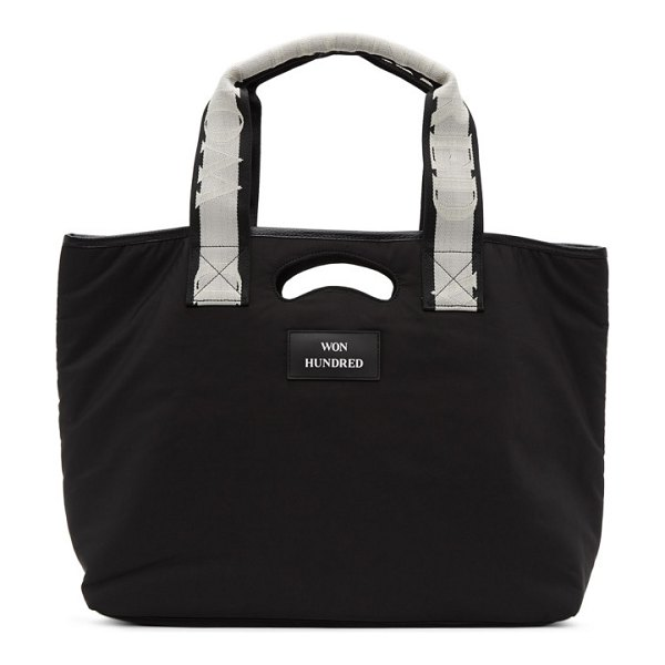 Won Hundred journey tote in black