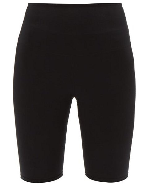WONE high-rise technical-jersey cycling shorts in black
