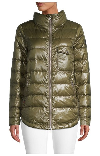 Woolrich Alquippa Puffer in army olive