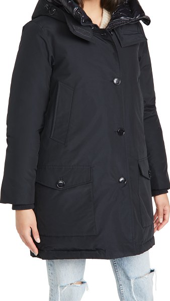 Woolrich arctic parka in dark navy