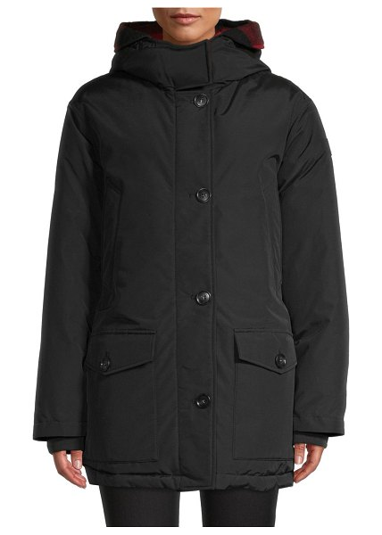 Woolrich Reversible Parka in black