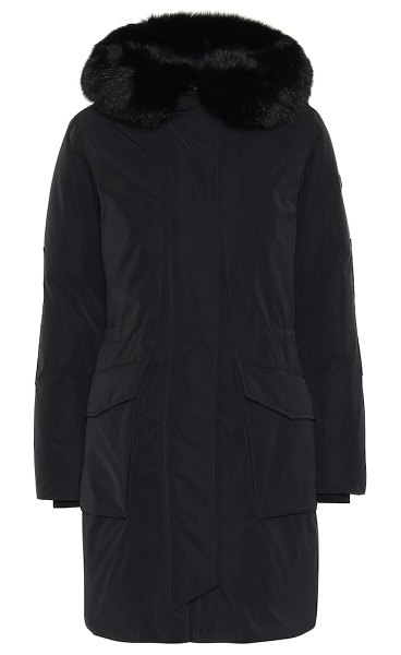 Woolrich w's military down parka in black