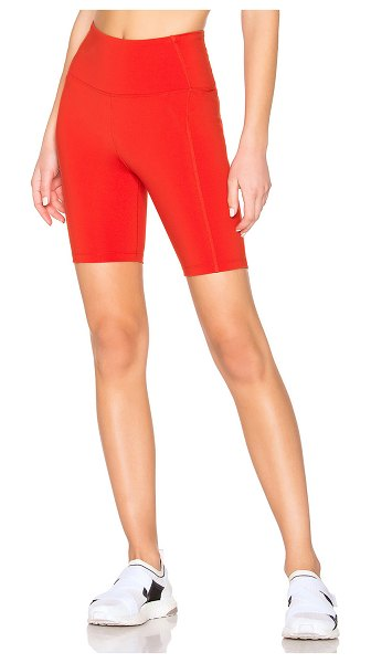 YEAR OF OURS Diana Short in red - 80% nylon 20% spandex. Stretch fit. Made in USA....