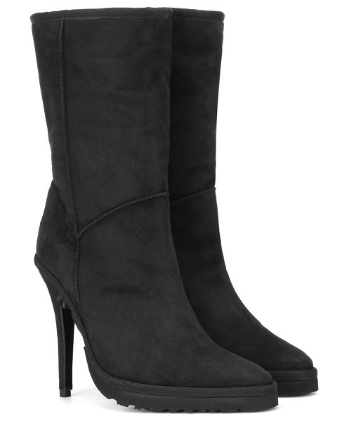 Y/PROJECT x ugg ankle boots in black