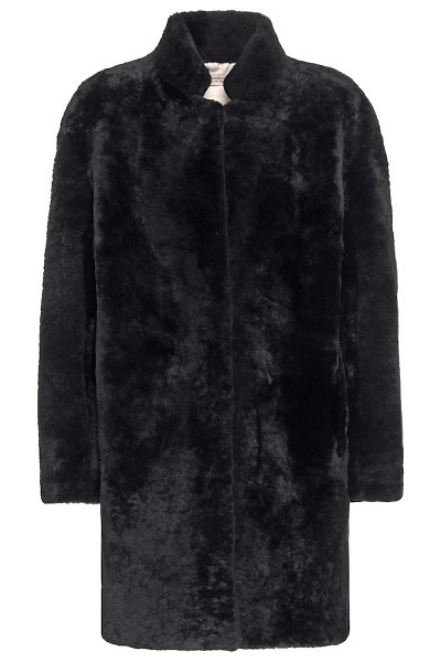 Yves Salomon exclusive to mytheresa – meteo shearling coat in black