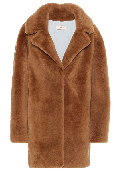 Yves Salomon exclusive to mytheresa – meteo shearling coat in brown