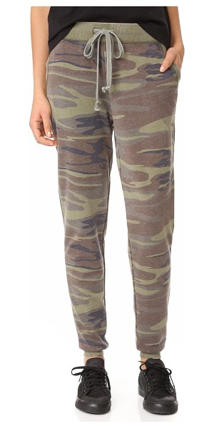 Z Supply the camo pants in camo green