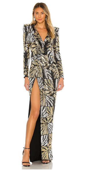 Zhivago we're outta here gown in gold