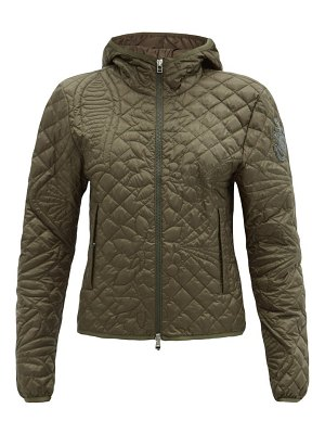 1 MONCLER JW ANDERSON whitby hooded floral-quilted down jacket