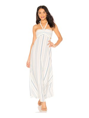 1. STATE Cinched Bodice Maxi Dress