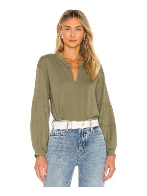 1. STATE puff sleeve blouse