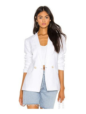 1. STATE relaxed fit linen blazer