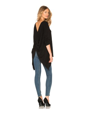 1. STATE Rib Knot Back Top