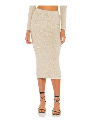 1. STATE ribbed skirt