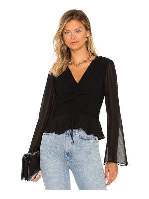 1. STATE ruched blouse