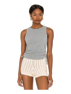 1. STATE ruched knit top